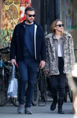 Jennifer Lawrence and Cooke Maroney head out in New York City