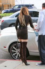 Jennifer Lopez Arriving for a business meeting in LA