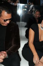 Jennifer Lopez At Tom Ford show, Front Row, Fall Winter 2020, Milk Studios, Los Angeles