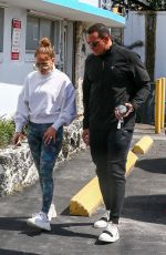 Jennifer Lopez Out the gym in Miami
