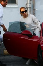 Jennifer Lopez Steps out for a casual afternoon in Miami