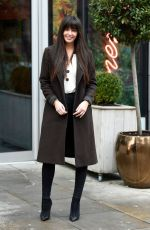 Jennifer Metcalfe Out and about in Manchester