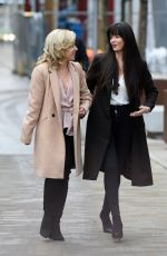 Jennifer Metcalfe Spotted out for a spot of late lunch with her friend at Menagerie in Manchester