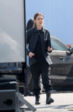Jessica Alba On the set of L.A