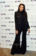 Jessica Wright At Launch of best-selling book Eat Your Way to a Six Pack at the Devonshire Club, London