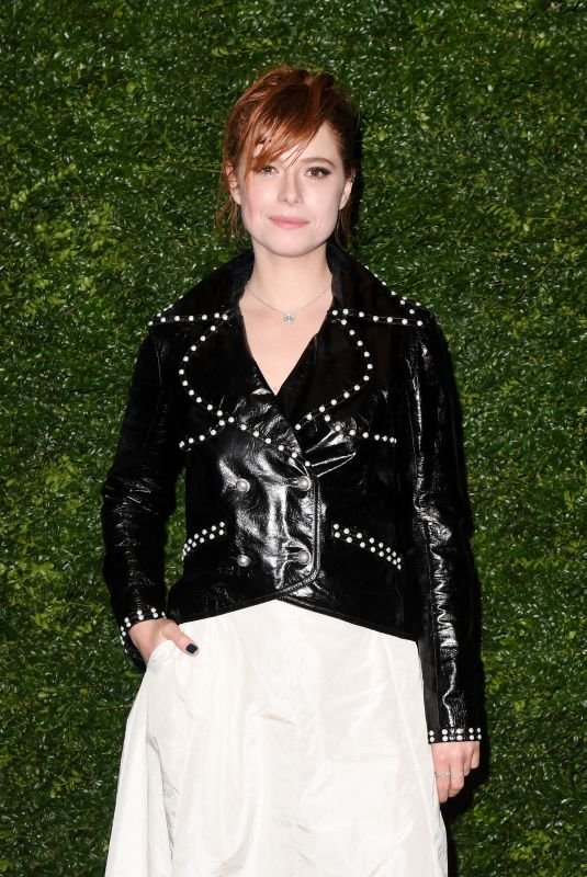 Jessie Buckley At The Charles Finch & Chanel Pre-BAFTAs Dinner, Loulou