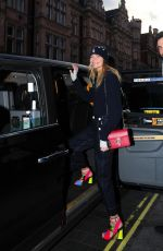 Jodie Kidd Arriving for a bite to eat at Scott