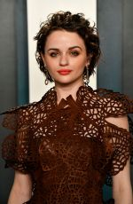 Joey King At Vanity Fair Oscar Party in Los Angeles