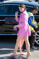 Joey King Seen outside the Film Independent Spirit Awards in Santa Monica