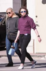 Joey King Shopping in Beverly Hills