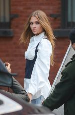 Josephine Skriver At a photoshoot in NYC