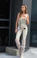 Josephine Skriver Doing a photoshoot in NYC