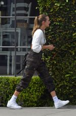 Josephine Skriver Seen out & about in Paris, France