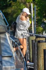 Josie Canseco On a yacht in Miami