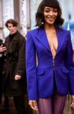 Jourdan Dunn At Mugler Fashion Show in Paris, France