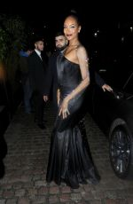 Jourdan Dunn At the BAFTA Awards Afterparty held at the Chiltern Firehouse in London