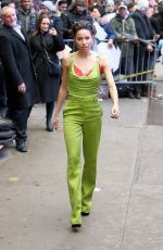 Jurnee Smollett-Bell Outside Good Morning America in NYC
