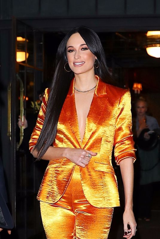 Kacey Musgraves Seen leaving the Bowery Hotel
