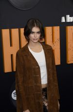 Kaia Gerber At High Fidelty Premiere in NY
