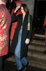 Kaia Gerber Late Night Partying at Annabel