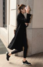 Kaia Gerber Spotted in Milan