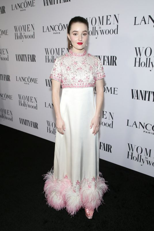 Kaitlyn Dever At Vanity Fair and Lancome Women in Hollywood Celebration in West Hollywood