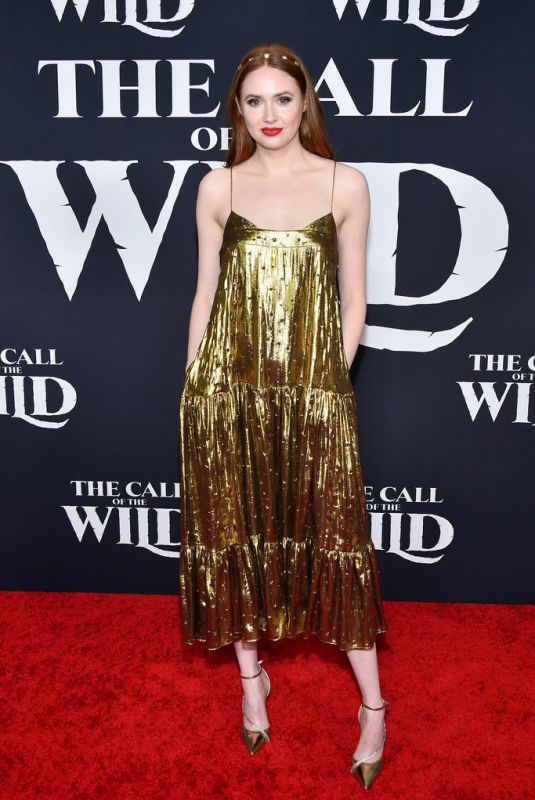 """Karen Gillan At """"The Call Of The Wild"""" premiere in Los Angeles"""