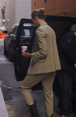 Karlie Kloss Arriving at the Michael Kors Fashion Show in NYC