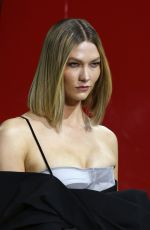 Karlie Kloss At Off-White show at Paris Fashion Week Womenswear Fall/Winter 2020/21
