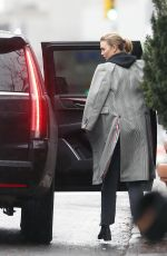 Karlie Kloss Heads Out For a Business Meeting in New York City