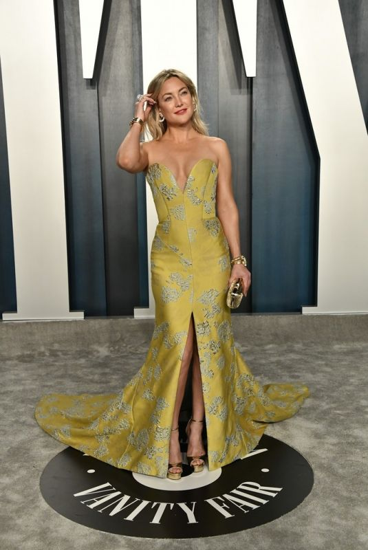 Kate Hudson At 2020 Vanity Fair Oscar Party in Beverly Hills