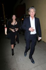 Katharine McPhee and David Foster are seen leaving a pre Oscar dinner held at La Dolce Vita restaurant in Beverly Hills