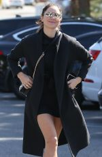 Katharine McPhee Leggy while out for lunch in Brentwood