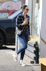 Katharine McPhee O&A in West Hollywood