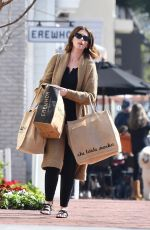 Katherine Schwarzenegger Has her hands full with groceries in the Palisades
