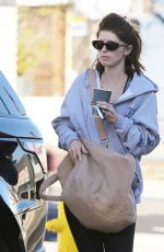Katherine Schwarzenegger Leaves her morning sweat session in Brentwood