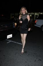 Katie Cherry Outside Delilah Nightclub in West Hollywood