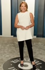 Katie Couric At Vanity Fair Oscar Party, Arrivals, Los Angeles