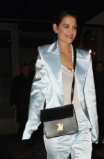 Katie Holmes At Flaunt & Zadig & Voltaire Fashion event in New York