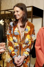 Katie Holmes At The Launch of Solar Dream hosted by Fendi in NYC