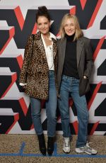 Katie Holmes At Zadig & Voltaire show, Front Row, Fall Winter 2020, New York Fashion Week