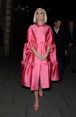 Katy Perry Arriving at the Juliet Musical in London