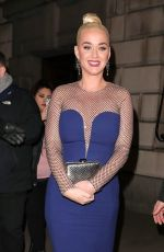 Katy Perry At British Asian Trust in London
