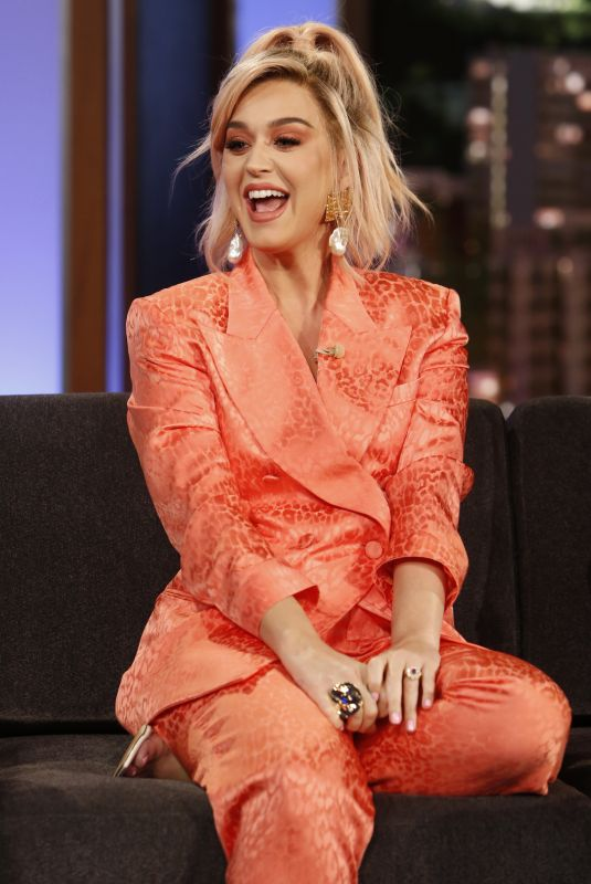 Katy Perry At Jimmy Kimmel Live