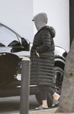 Katy Perry Seen leaving an office on Melrose Blvd