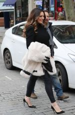 Kelly Brook At Heart Radio in London