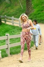 Kelsea Ballerini Seen Hiking at Runyon Canyon, Los Angeles