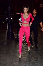 Kendall Jenner At night out in NYC