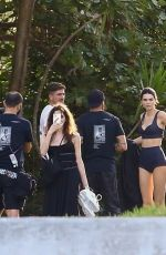 Kendall Jenner At photoshoot in Miami