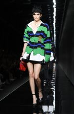 Kendall Jenner At Versace Fashion Show in Milan